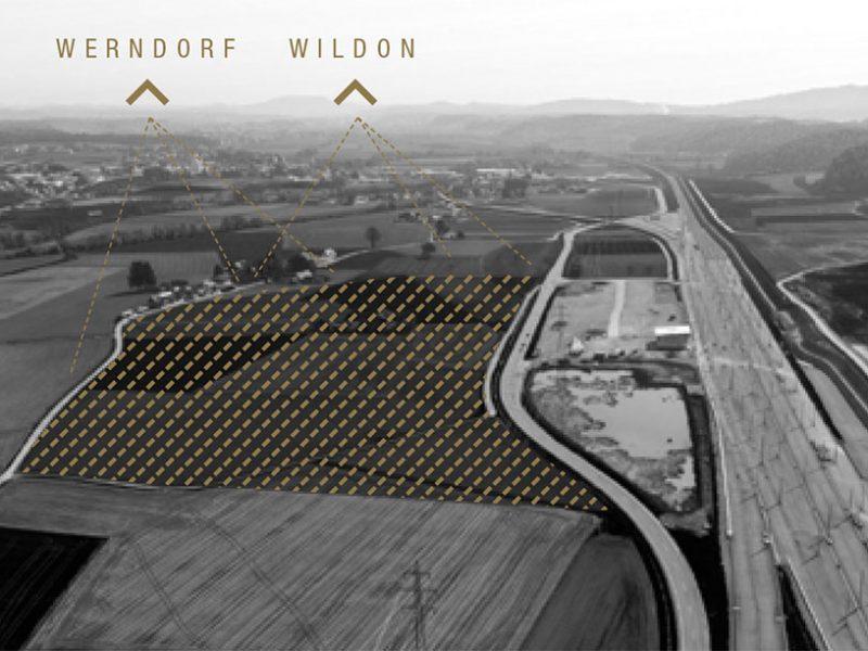 Ansicht Richtung Werndorf/Wildon