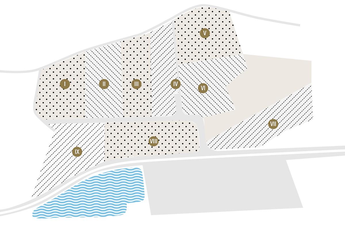Betriebsflächen Lageplan